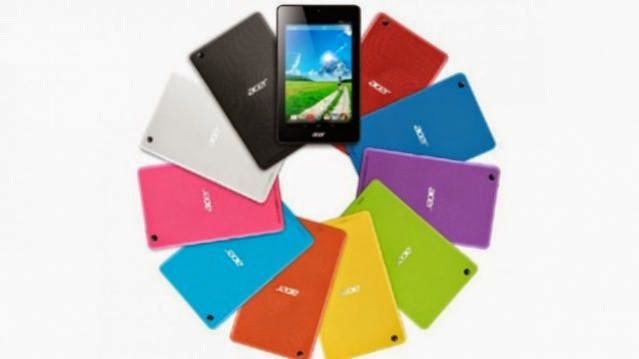 Acer E series hybrid android tablets