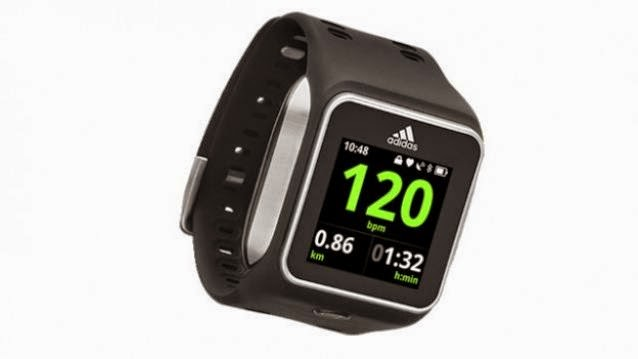 Subrayar Mente Afectar  Adidas miCoach Smart Run smartwatch launched for Rs 24,999 - Tech Foogle