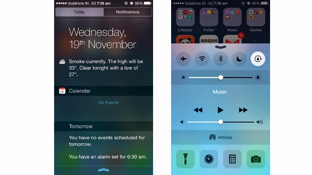 Notification-and-Control-center
