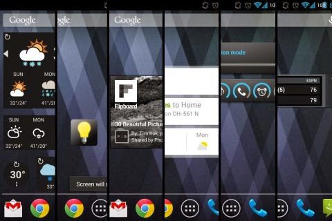 android-widgets