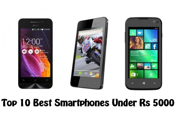 SmartphonesUnderRs5000