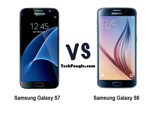 samsung galaxy s7 vs galaxy  s6-techfoogle.com
