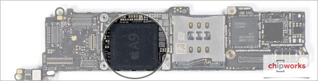 04-Apple-iPhone-SE-Teardown-Chipworks-Analysis-Internal-Apple-A9-Processor-Application