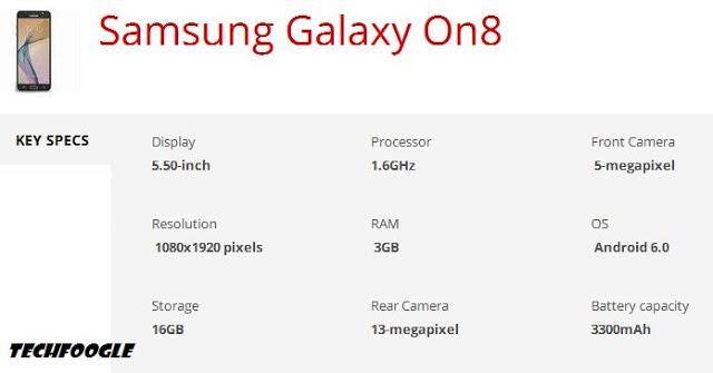 samsung-galaxy-on8-specs
