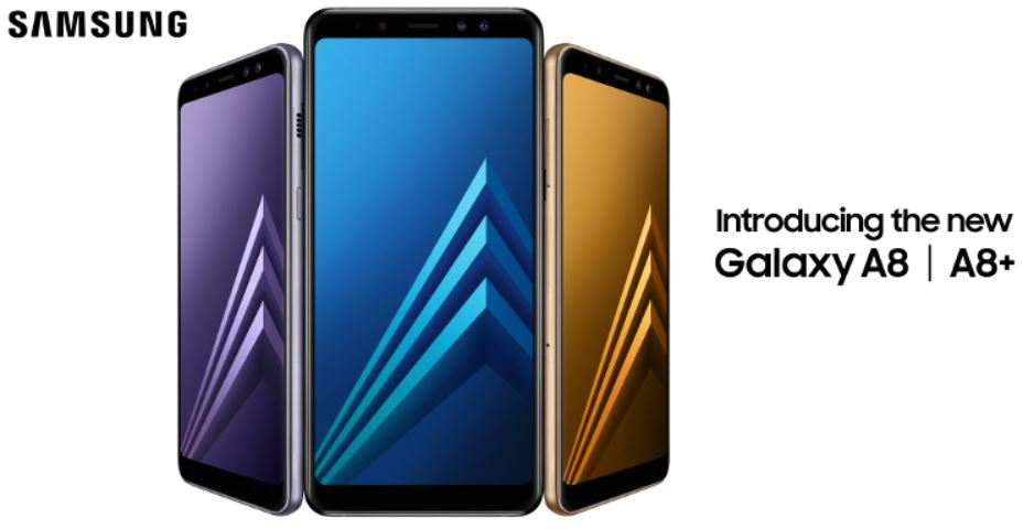 Samsung Galaxy A8 And A8 Plus 2018