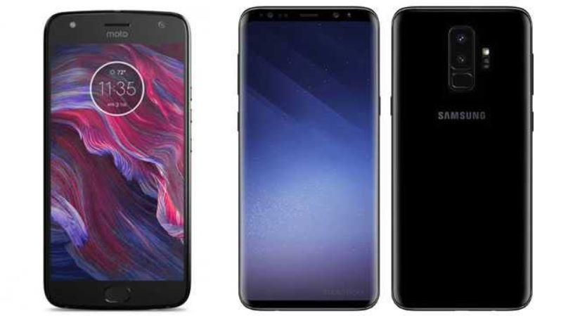 Galaxy S9 and Motorola Phones