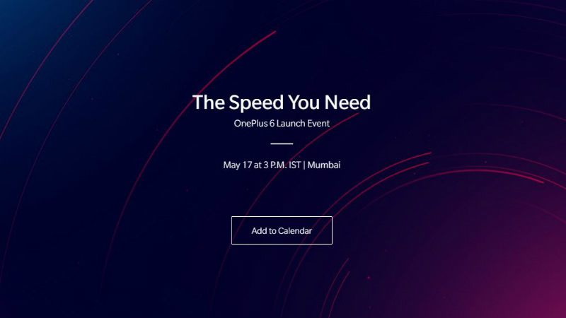oneplus 6 india launch event oneplus