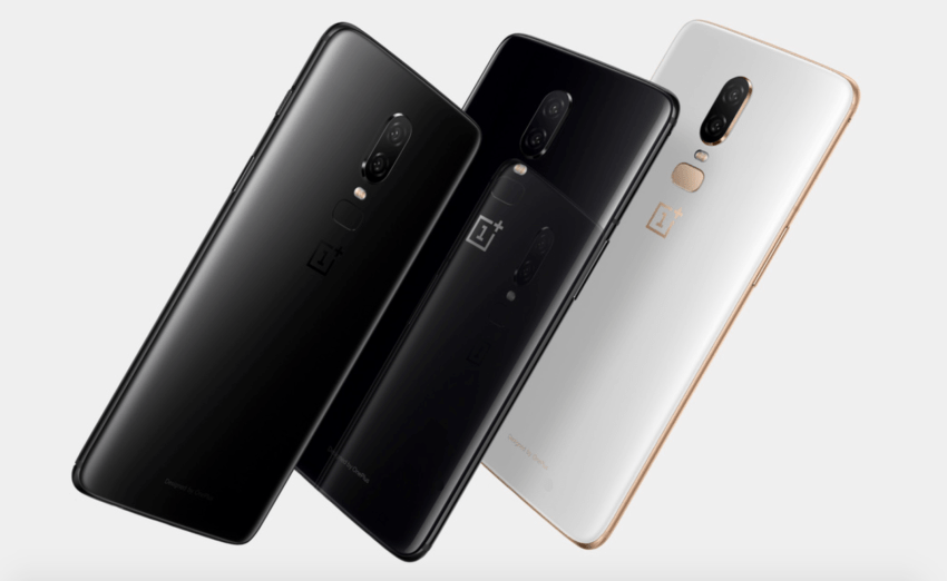 OnePlus 6 all colours