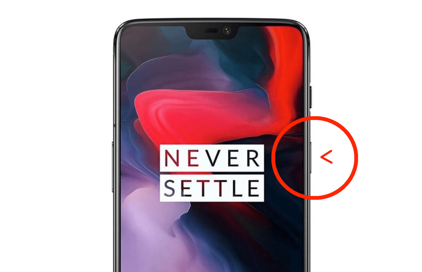 OnePlus 6 Unlock Button