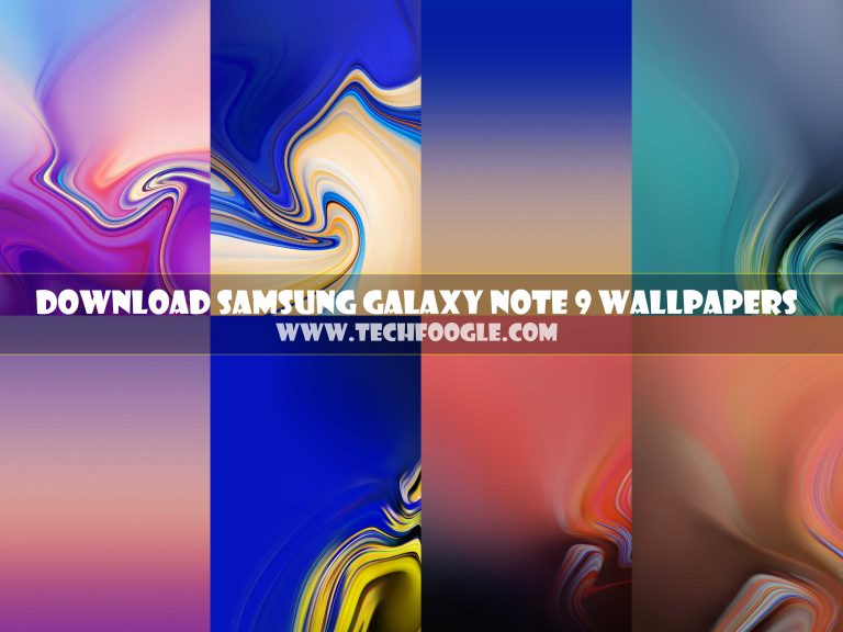 Free Download Samsung Galaxy Note 9 Stock Wallpapers