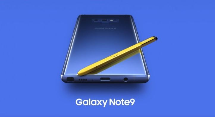 Samsung Galaxy Note 9 Official Launch