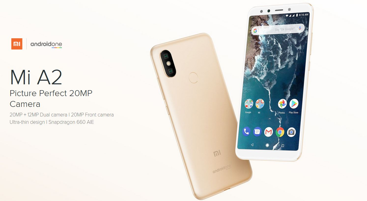 Mi A2 Official Picture