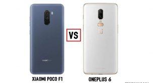 Xiaomi Poco F1 Vs OnePLus 6