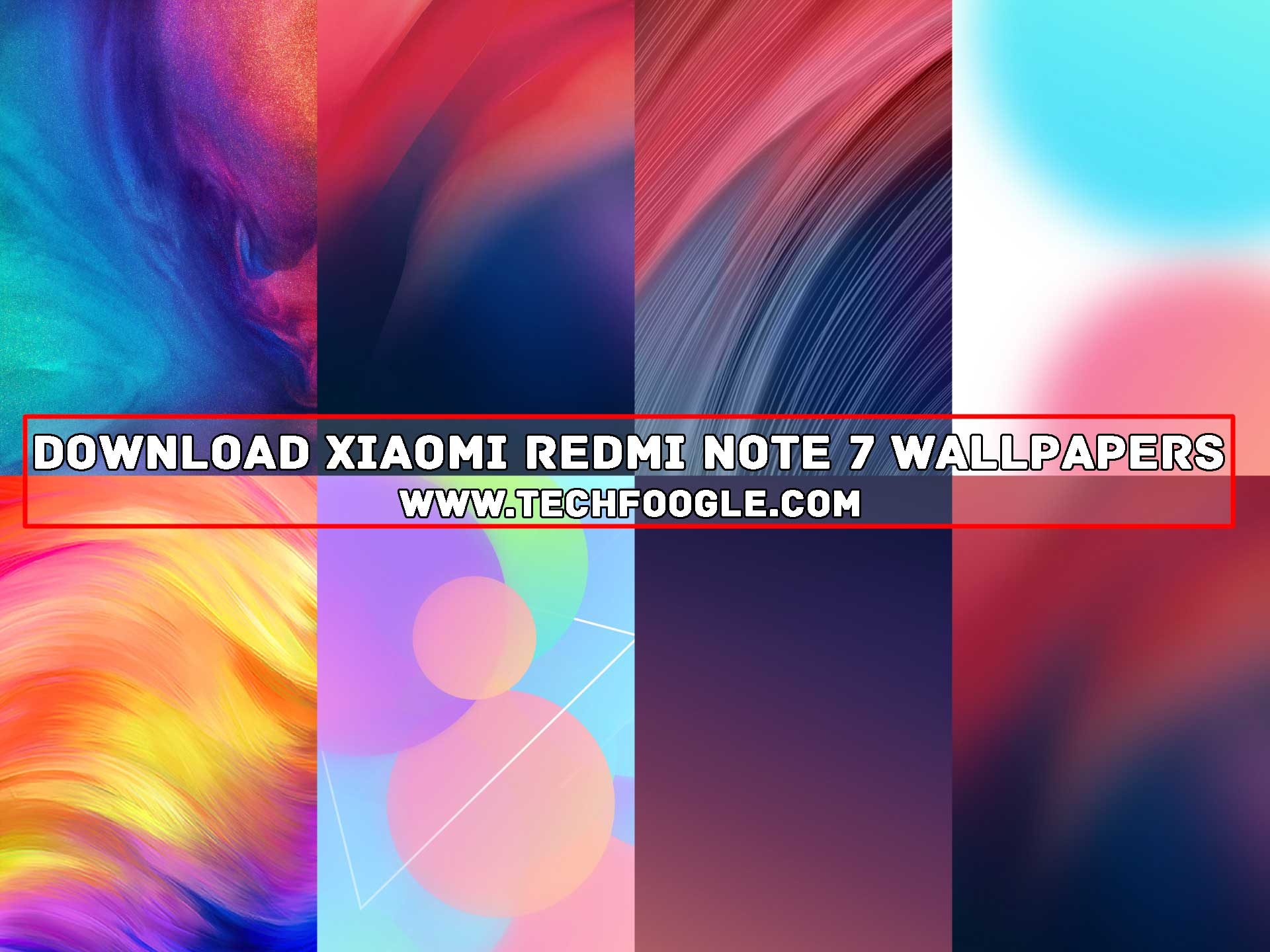 Free Download Xiaomi Redmi Note 7 Wallpapers Collage