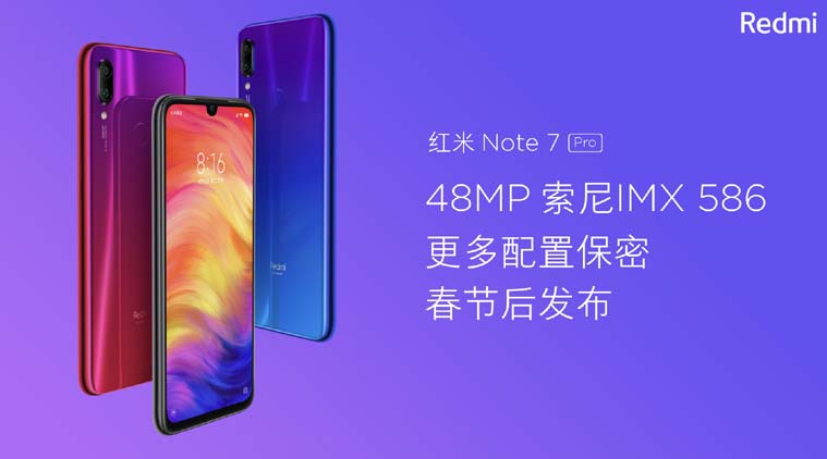 Redmi Note 7 with 48MP Camera