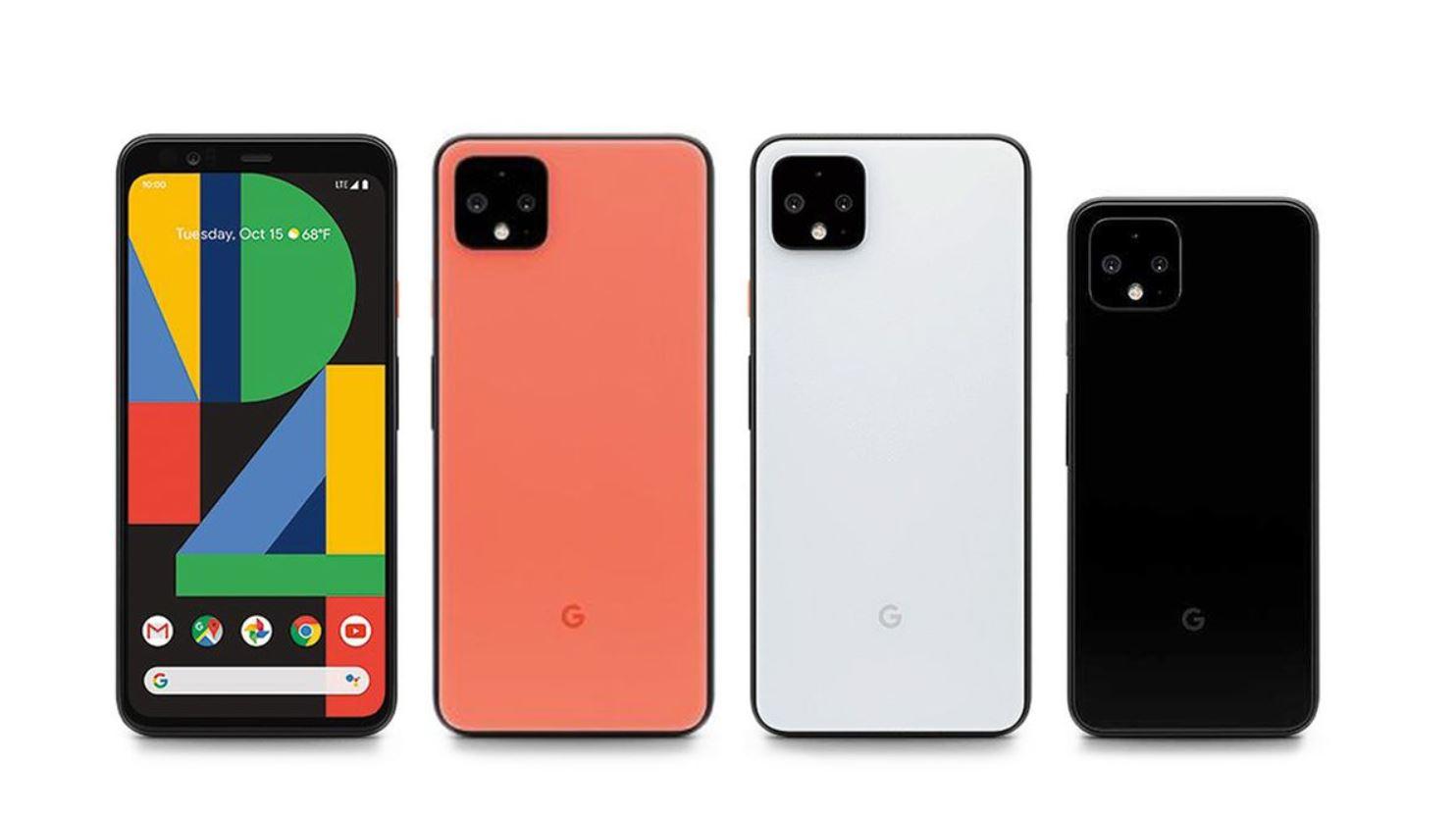 google pixel 4 and pixel 4 xl