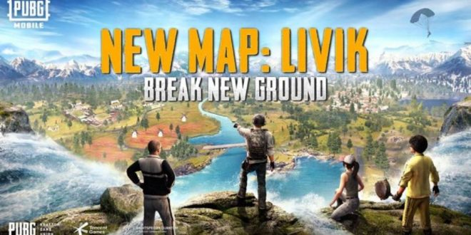 New Livik Map in PUBG Mobile, update the game