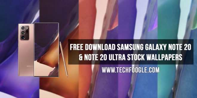 Free Download Samsung Galaxy Note 20 & Galaxy Note 20 Ultra Stock Wallpapers [4K]