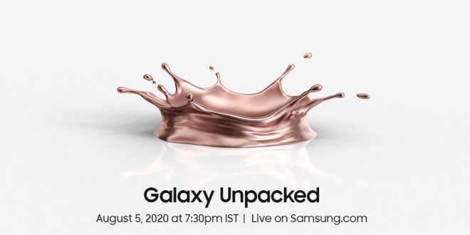 Samsung Galaxy Note 20 Series launching today, see live events