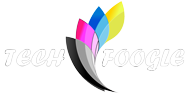 TechFoogle Footer Logo White Text 190x96