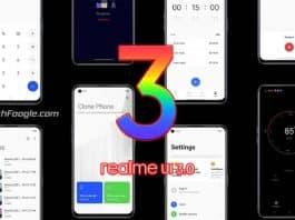 Realme UI 3.0 Device List